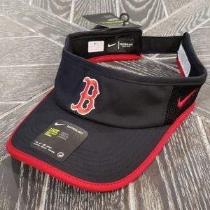 NWT Boston Red Sox Nike Featherlight DRI-FIT Visor